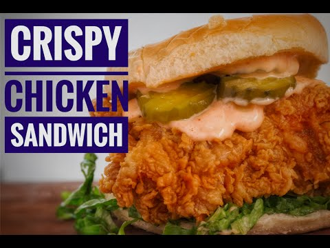 My Favorate Fried Chicken Sandwich | Easy Crispy Chicken | Chef Jon ashton