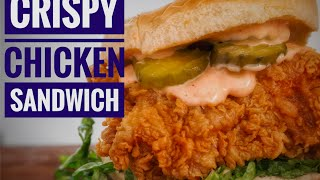 My Favorate Fried Chicken Sandwich | Easy Crispy Chicken | Chef Jon ashton thumbnail