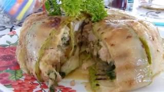 ПОТРЯСАЮЩЕ ВКУСНО!Необычный рецепт из кабачка