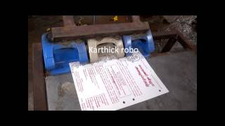 pnumatic paper punching machine mechanical engineering project topics