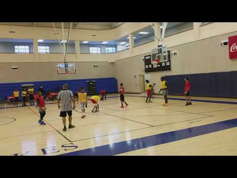 East Georgia Panthers 2017 Christmas Party/6th grade boys vs 5th grade boys