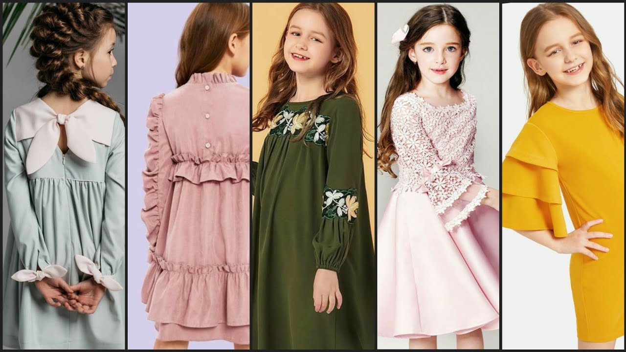 60+ Creative Kid's Sleeves Designs For Summer Frocks|very Useful Sleeve Designs For 1 -9 Year G