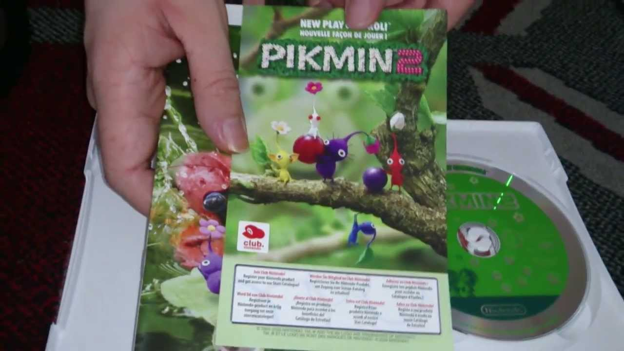 Nostalgamer Unboxes New Play Control Pikmin 2 Two On Nintendo Wii
