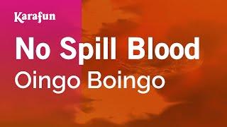 Karaoke No Spill Blood - Oingo Boingo *