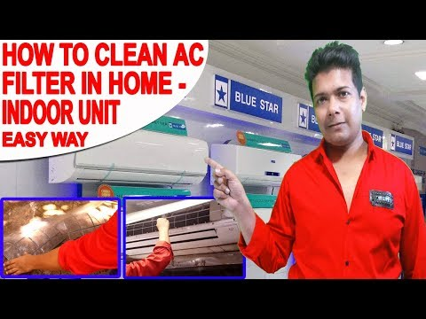 HOW TO CLEAN AC FILTER | AC SERVICE AT HOME | AC FILTER CLEANING AT HOME | AC MAINTENANCE