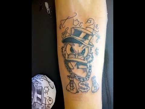 Tatuagem Tio Patinhas No Estúdio Maycon Tattoo Ink Grande