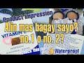 AR Vitamin E Moisturizing Face Powder Preview | First Impression | No. 1 and 2 | Alin ang mas bagay?
