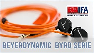 beyerdynamic BYRD In-Ear Serie vorgestellt