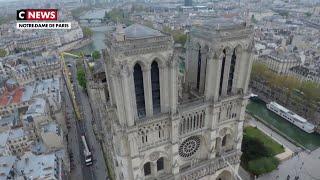 Notre-Dame de Paris : les dégâts filmés par un drone
