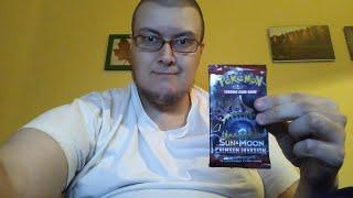 Opening kart Pokemon TCG Sun & Moon Crimson Invasion #1