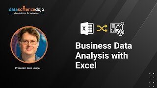Business Data Analysis with Excel