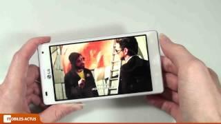 LG Optimus 4X HD - Test, démonstration, prise en main
