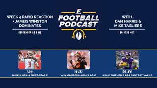 Week 4 Rapid Reaction + Jameis Winston Dominates (Ep. 407)