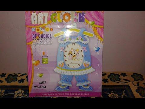 art clock -Wall Clocks For Kids Room -toys clock