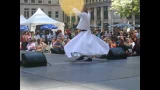 whirling dervish at chicago turkish festival 9 12 12