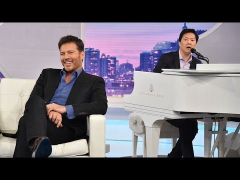 Ken Jeong Serenades Harry To Commercial!