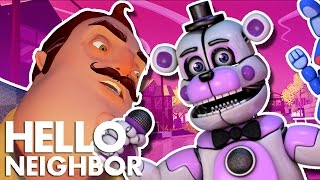 Minecraft Hello Neighbor - Funtime Freddy Invades (Minecraft Roleplay)