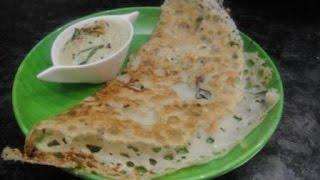 Rava Dosa In Tamil | Onion Rava Dosai In Tamil | Without Maida| Hotel Rava Dosai | Gowri Samayalarai