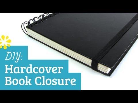DIY Hardcover Elastic Band Book Closure | Sea Lemon