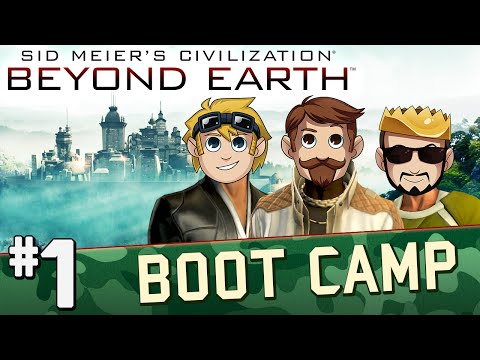 Civilization Beyond Earth: Boot Camp #1 Touchdown