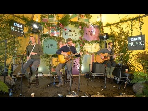 Midlake cover I Shall Be Released in the BBC Music Tepee at Glastonbury 2014