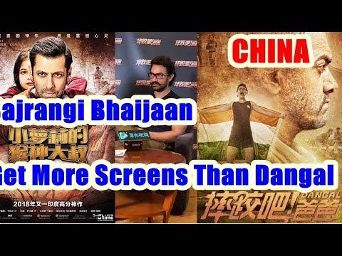 Download Youtube: Bajrangi Bhaijaan Will Get More Screens Than Dangal In CHINA!