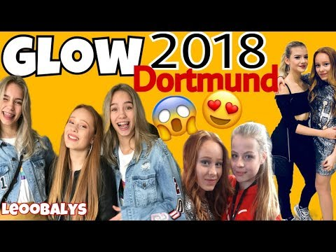 GLOW CON 2018 in Dortmund😍😱mit Lisaandlena,Clipshitland, Nikkietutorials, Dagi Bee,usw.| LEOOBALYS