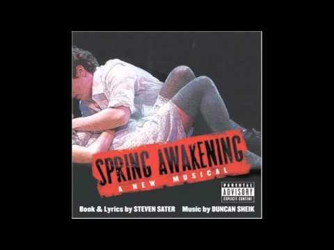 The Word of Your Body - Spring Awakening [Karaoke]