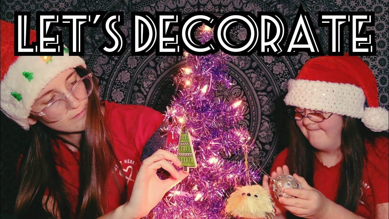 ASMR | Let's Decorate 🎄(soft talking, tapping, rubbing, crinkles, etc.)