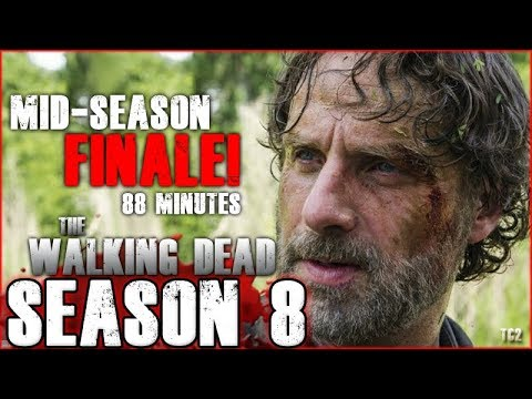 the walking dead season 8 mid season finale will be an 88 minute