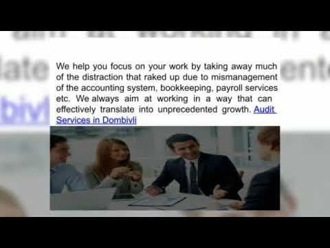 Find the Right Tax Advisor for business @ Tax Advisory in Dombivli