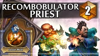 Hearthstone Recombobulator Priest w/ StrifeCro Fatigue Wars #2