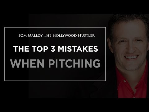 Top 3 Mistakes People Make When Pitching Film Investors