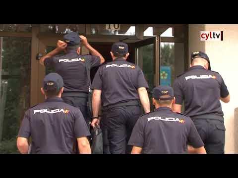 Más de 2.500 alumnos comienzan curso en la Escuela Nacional de Policía de Ávila