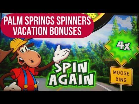 AMAZING 4X Bonus Round - Vacation Slot Machine