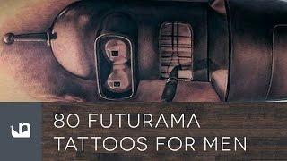 incredible Tattoos Inspired By Futurama