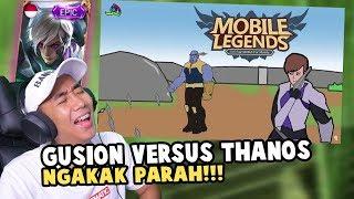 PERTARUNGAN GUSION VS THANOS TERKOCAK WKWK!!!