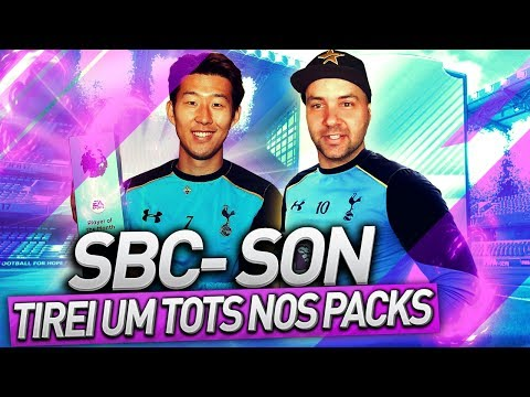 SBC DO SON - TIRAMOS UM TOTS NAS RECOMPENSAS   FIFA 17 ULTIMATE TEAM