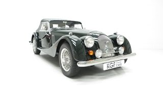 A Pristine Morgan 4/4 with Only 7,392 Miles and Morgan Dealer History - SOLD!
