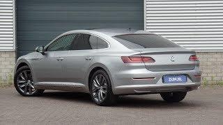 Volkswagen NEW Arteon Elegance 2018 Pyrit Silver Metallic walk around & Inside detail