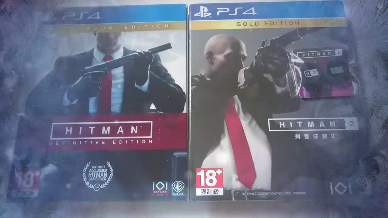 Unboxing Hitman 2 Gold Edition Ps4 Youtube