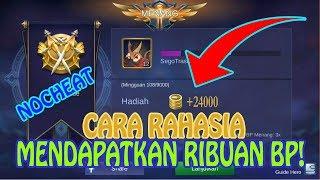CARA CEPAT MENDAPATKAN RIBUAN BATTLE POINT!-MOBILE LEGENDS INDONESIA