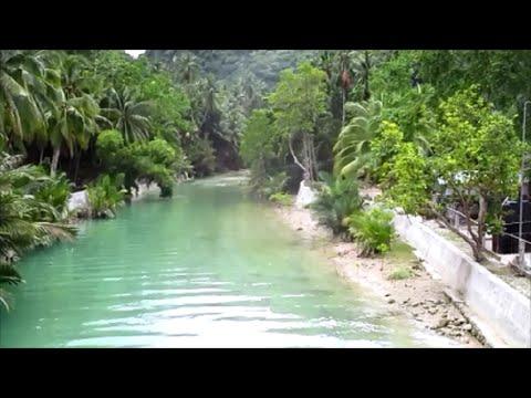 KAWASAN FALLS  SCANDAL!  ~ Badian Beach ~ Philippines Tourism ~ My Motorcycle Adventures