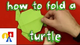 How To Fold A Turtle