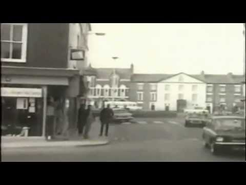 Caernarfon - How it changed  since 1969