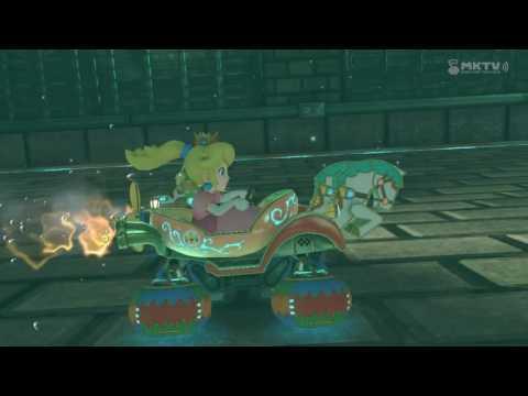 Wii U - Mario Kart 8 - Gruselwusel-Villa