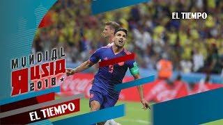Así se vivieron los goles de Colombia desde la grama   EL TIEMPO   Rusia18