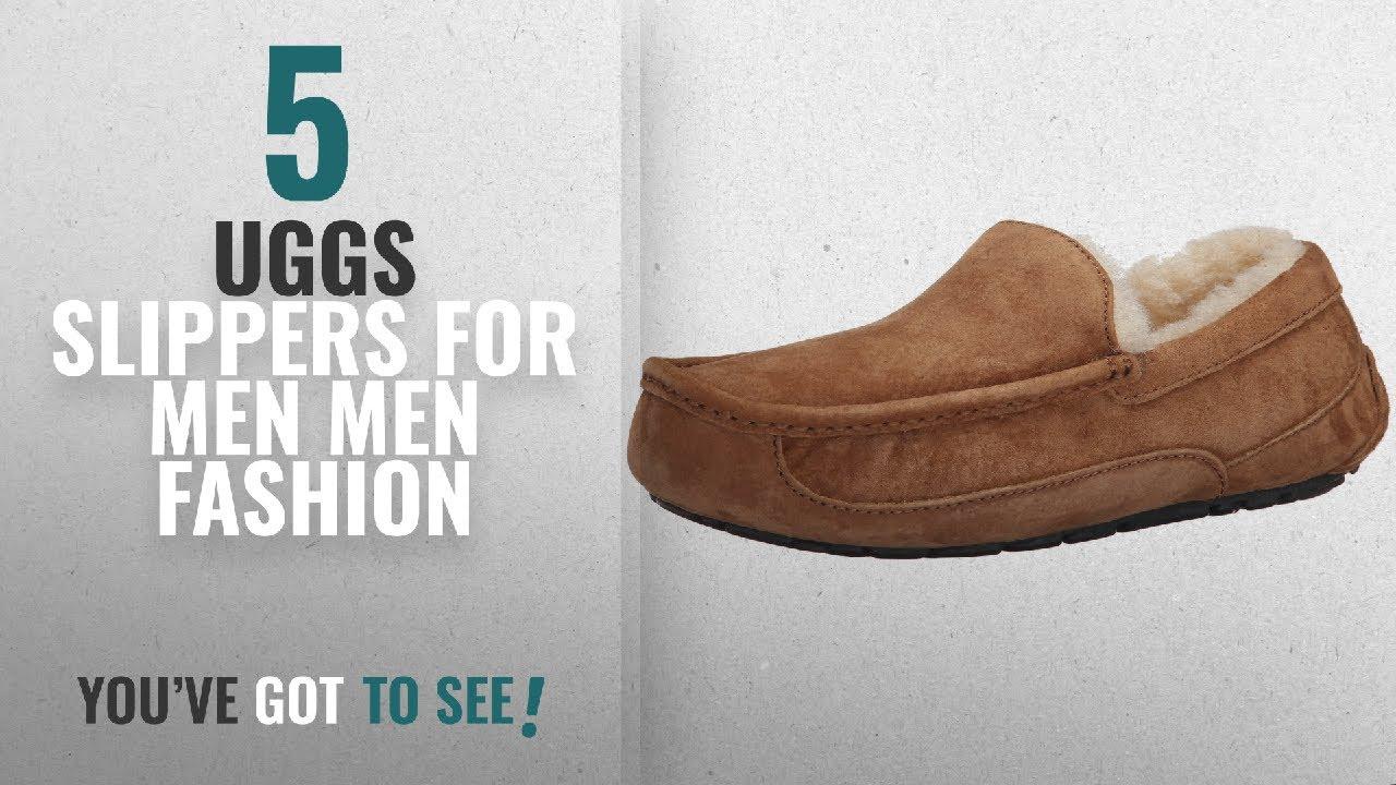 f59e21909dc0 Top 10 Uggs Slippers For Men  Men Fashion Winter 2018    UGG Men s ...