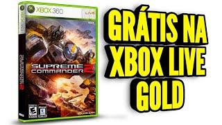 SUPREME COMMANDER 2 DE GRAÇA NA XBOX LIVE PARA 360