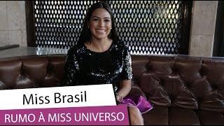 Mayra Dias revela como está se preparando para o Miss Universo (2018)